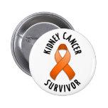 Kidney Cancer Survivor Button