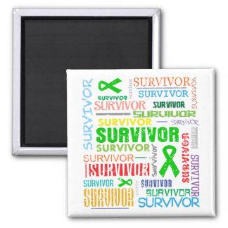 Kidney Cancer Survivor Collage 2.png Fridge Magnet