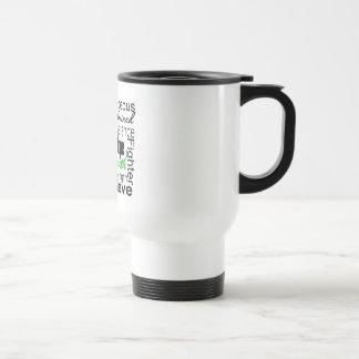 Kidney Cancer Survivor Collage Green Mug