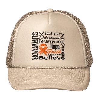 Kidney Cancer Survivor Collage Trucker Hat