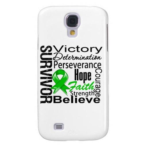 Kidney Cancer Survivor Collage v2 Samsung Galaxy S4 Case