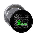 Kidney Cancer  Survivor Collage v2 Pins