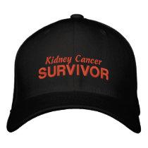 Kidney Cancer Survivor Embroidered Baseball Hat