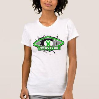 Kidney Cancer Survivor Grunge Logo Shirts