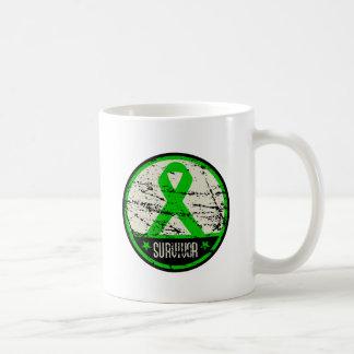 Kidney Cancer Survivor Mens Vintage Mugs