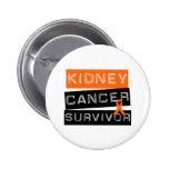 Kidney Cancer Survivor Pins