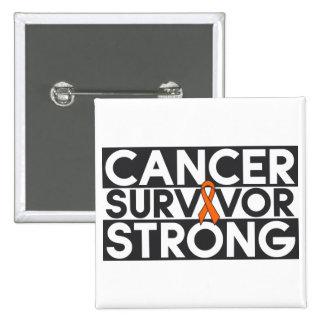 Kidney Cancer Survivor Strong Buttons
