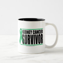 Kidney Cancer Survivor Two-Tone Coffee Mug