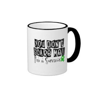 Kidney Cancer Survivor You Don't Scare Me v2 Ringer Coffee Mug