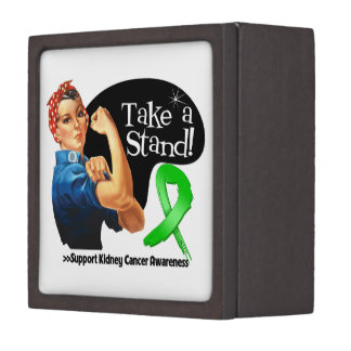Kidney Cancer Take a Stand Premium Jewelry Boxes