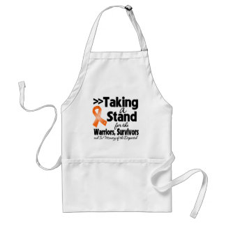 Kidney Cancer Taking a Stand Tribute v2 Aprons