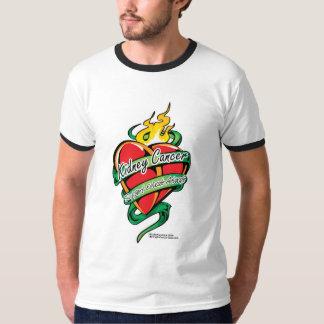 Kidney Cancer Tattoo Heart T Shirt