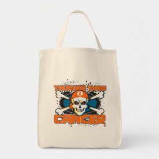 Kidney Cancer Tougher Than Cancer Skull 2 Bags