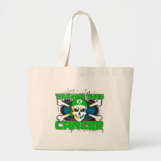 Kidney Cancer Tougher Than Cancer Skull Bags