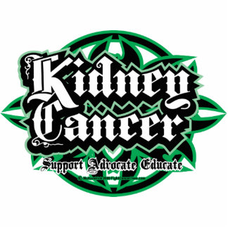 Kidney Cancer Tribal Acrylic Cut Out