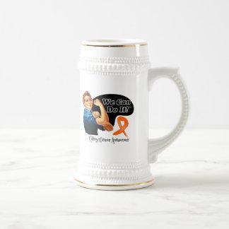 Kidney Cancer v2 We Can Do It Rosie The Riveter Mug
