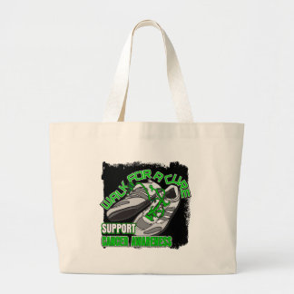 Kidney Cancer Walk For A Cure Shoes Jumbo Tote Bag