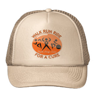 Kidney Cancer Walk Run Ride For A Cure v2 Trucker Hat