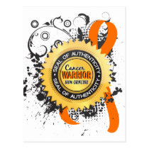Kidney Cancer Warrior 23 Postcard