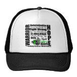Kidney Cancer Warrior Fight Slogans Trucker Hats