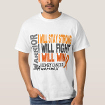 Kidney Cancer Warrior T-Shirt