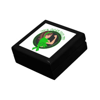 Kidney Cancer We Can Do It (Rosie-L) Keepsake Boxes