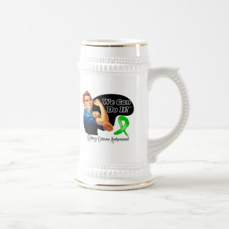 Kidney Cancer We Can Do It Rosie The Riveter Coffee Mugs