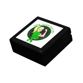 Kidney Cancer We Can Do It (W.01) Trinket Boxes