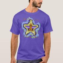 Kidney Cancer Wish Star Men's Nano T-Shirt