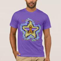 Kidney Cancer Wish Star Men's Organic T-Shirt