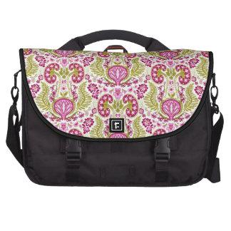 Kidney Damask Laptop Messenger Bag