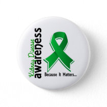 Kidney Disease Awareness 5 Button