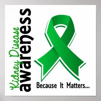 Kidney Disease Awareness 5 Posters