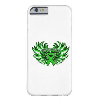 Kidney Disease Awareness Heart Wings Barely There iPhone 6 Case