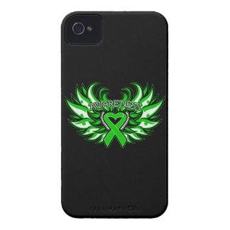 Kidney Disease Awareness Heart Wings Case-Mate iPhone 4 Case