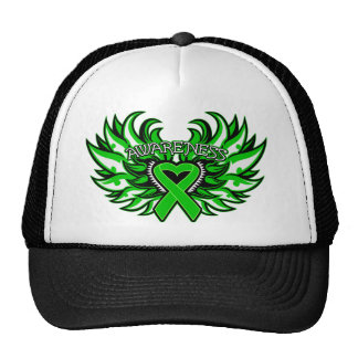 Kidney Disease Awareness Heart Wings.png Trucker Hat