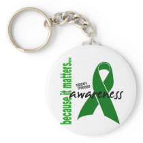 Kidney Disease Awareness Keychain
