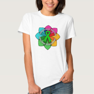 Kidney Disease Awareness Matters Petals T Shirt
