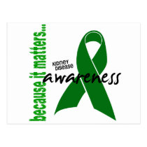 Kidney Disease Awareness Postcard