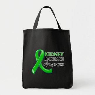 Kidney Disease Awareness Ribbon Bags