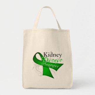 Kidney Disease Awareness Ribbon Bag