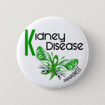 Kidney Disease BUTTERFLY 3.1 Button
