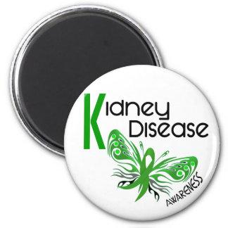 Kidney Disease BUTTERFLY 3.1 Fridge Magnets