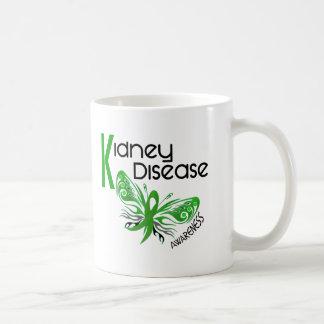 Kidney Disease BUTTERFLY 3.1 Coffee Mugs