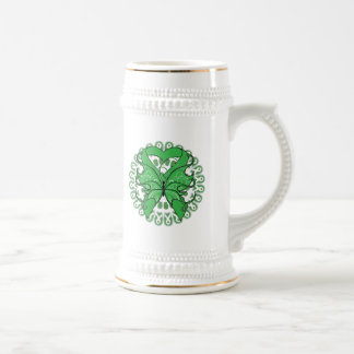 Kidney Disease Butterfly Circle of Ribbons Mugs