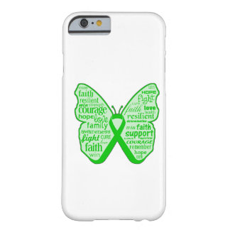 Kidney Disease Butterfly Ribbon Barely There iPhone 6 Case