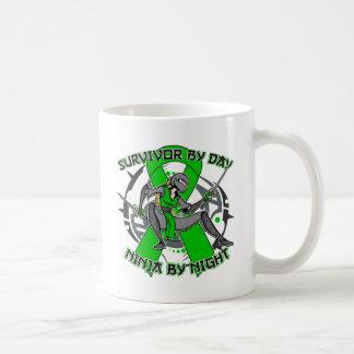 Kidney Disease By Day Ninja By Night 2.png Classic White Coffee Mug
