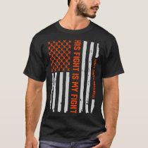 Kidney Disease Cancer Survivor Awareness Ribbon T-Shirt