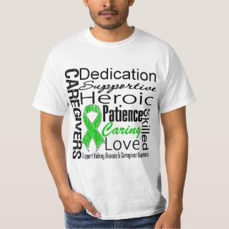Kidney Disease Caregivers Collage T-Shirt