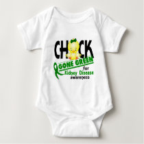Kidney Disease Chick Gone Green 2 Baby Bodysuit